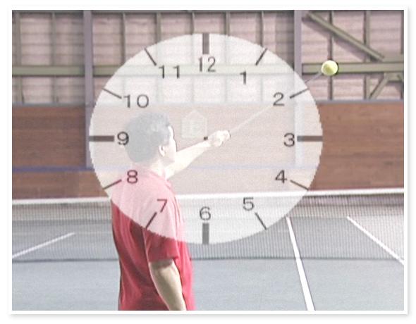 新井流フルスイングテニス塾 ~確率&スピードを自在に操る回転系サービス~【AT0008】